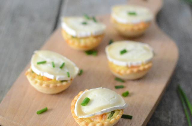 Tartelettes apéritives au saumon & En-Cas de Caprice - Photo par Quiveutdufromage.com