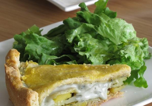 Tourte de pommes de terre et crème Saint Agur® - Photo par Quiveutdufromage.com