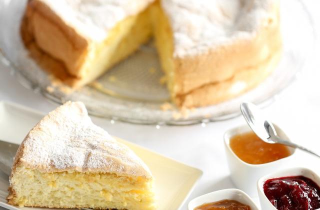Gâteau sans oeuf à la pomme - Photo par famillSg