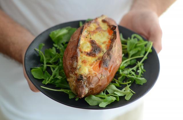 Patate douce rôtie au four - Photo par Nadia Paprikas