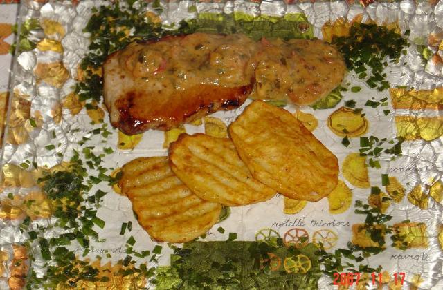 """Cotes de veau à l""""berdouille - Photo par saraau"""