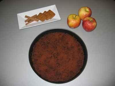 Crumble de pommes aux spéculoos - Photo par camille