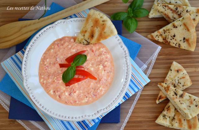 Ktipiti - Sauce dip poivrons et feta - Photo par Invité