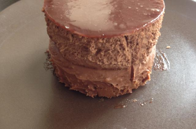 Entremet au chocolat - Photo par unetoquee