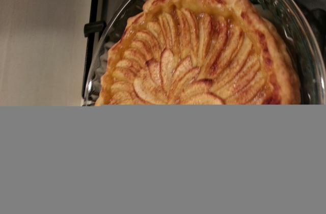 Tarte aux pommes en compote - Photo par Communauté 750g