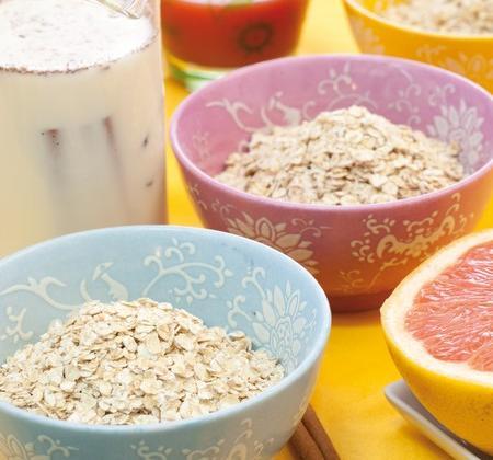 Céréales dans un lait parfumé aux épices - Photo par Matins Céréales