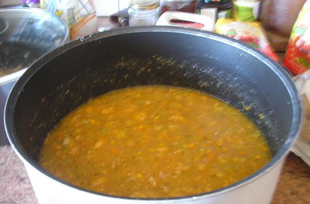 Soupe de potiron aux châtaignes - Photo par michelLKv
