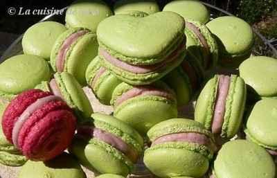 Saga macarons : à la fraise, c'est de saison ! - Photo par nathal8