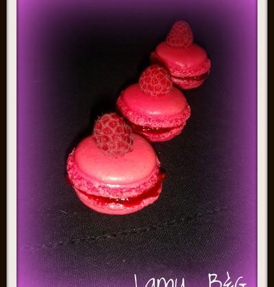 Macarons framboise - Photo par anthel
