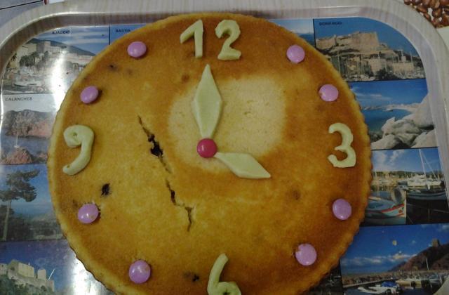 Gâteau de l'horloger - Photo par cecilehd