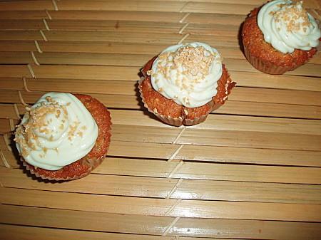 Cupcakes pommes, sirop d'érable et noix de pécan - Photo par brevesdecuisine