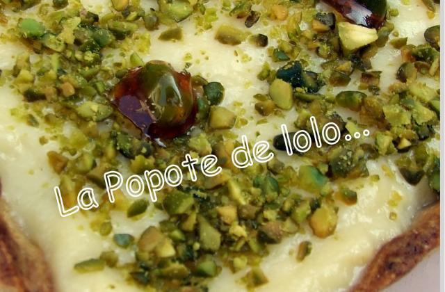 Tarte pamplemousse pistache - Photo par lapopotedelolo
