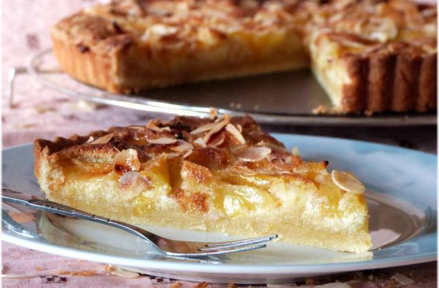 Tarte aux prunes jaunes et amandes - Photo par Steph unegrainedidee