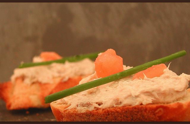 Rillettes de sardines et fromage frais - Photo par cuisinZj