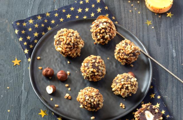 Truffes chocolat & noisettes - Photo par Angélique Roussel pour Soy