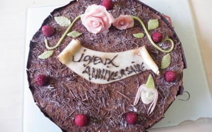 Gâteau d'anniversaire facile et rapide - Photo par k.sidy