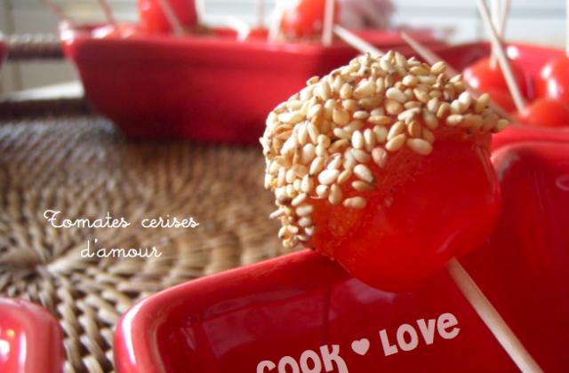 Tomates cerises d'amour - Photo par Mathilde M Cuisiner
