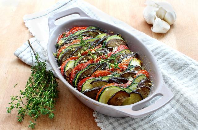 Tian de légumes pané - Photo par Silvia Santucci