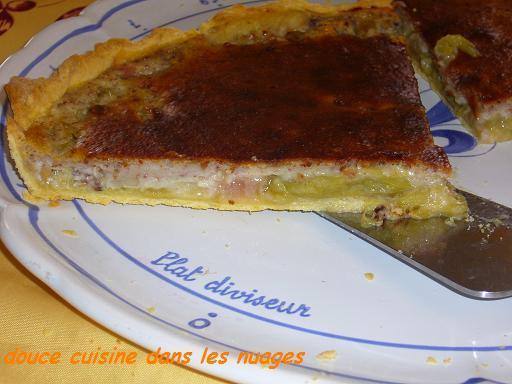 Tarte à la rhubarbe et noix de pécan - Photo par brigitXg