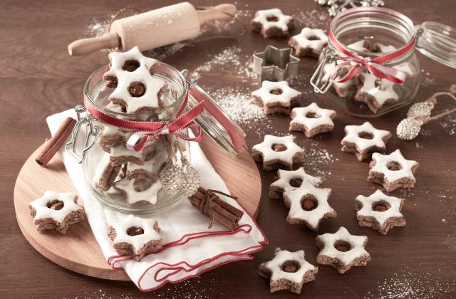 Biscuits étoilés à la cannelle et au Nutella® - Photo par Nutella
