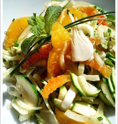 Salade vitaminée facile - Photo par ptitelG