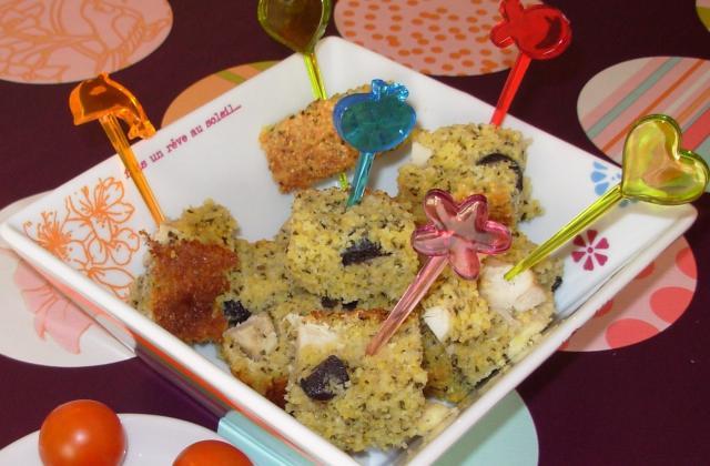 Cake à la polenta, amandes et poulet - Photo par paulinc7