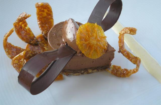 Paon chocolat nougatine - Photo par lenfanu
