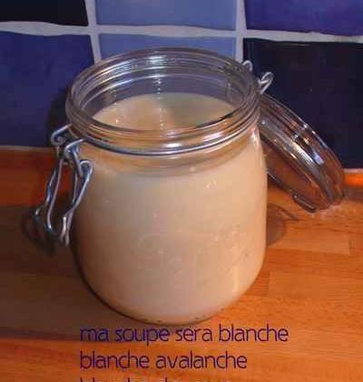 Soupe Blanche Dauphine - Photo par zemiji