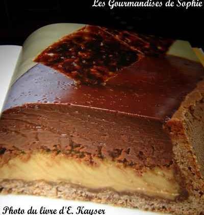 Tarte au chocolat et crème brûlée café - Photo par Sophie21