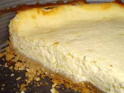 Cheesecake light au sésame et au citron - Photo par lebotsc