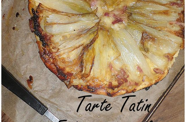 Tarte tatin aux endives, saveur raclette - Photo par La petite cuisine de Sabine