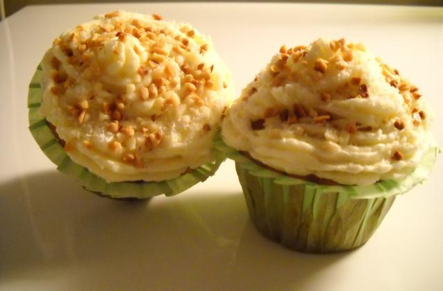 Cupcakes noix de coco et amandes - Photo par jojo68