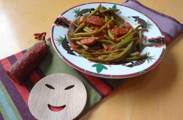 Poêlée de haricots verts au chorizo - Photo par Milartist