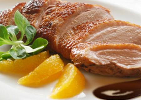 Canard gourmand sauce chocolat-orange - Photo par Lindt