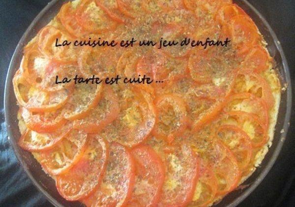 Tarte à la tomate et à la moutarde maison - Photo par Cookies.10