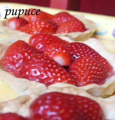Tartelettes légères aux fraises - Photo par myriamn5