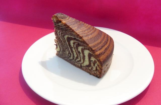 Le zébré chocolat pistache - Photo par Adri74