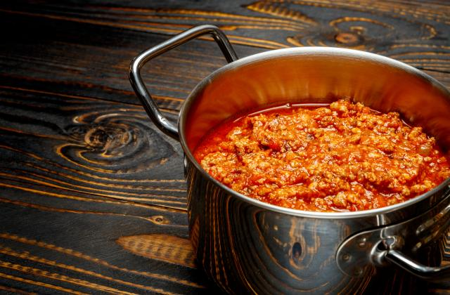 Sauce bolognaise: l'authentique ragù alla bolognese italien - Photo par 750g