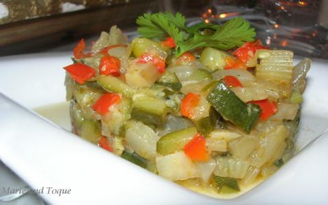Tartare de légumes rapide - Photo par astred