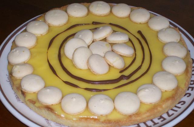 Tarte au citron déco macaron - Photo par dianicR