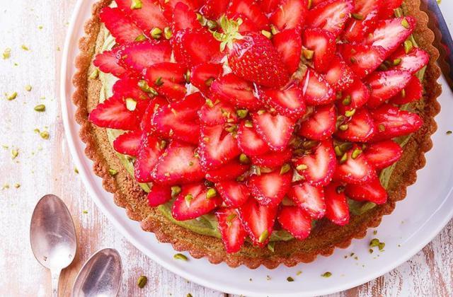 5 desserts fraise pistache irrésistibles - Photo par Julie Mechali
