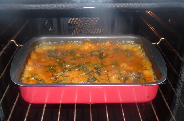 Hachis de thon à la sauce tomate - Photo par MEVI91100