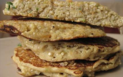 Galettes de quinoa aux légumes - Photo par Marions les goûts