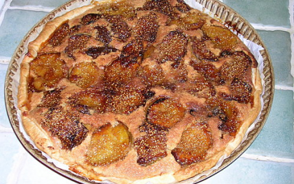 Recette traditionnelle de la tarte aux figues - Photo par 750g
