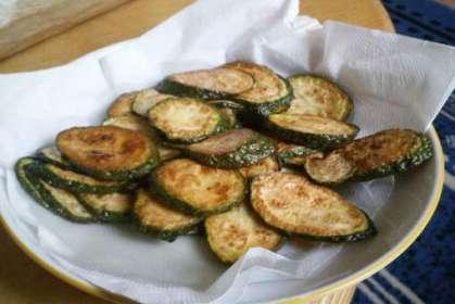 Chips de courgette - Photo par cricridd