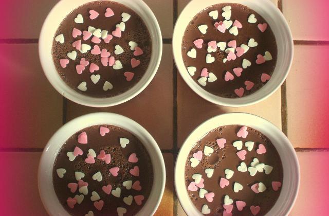 Crème-dessert au chocolat facile - Photo par juliep1