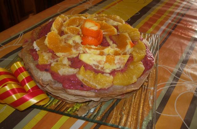Gâteau de crêpes sucré - Photo par sabati5