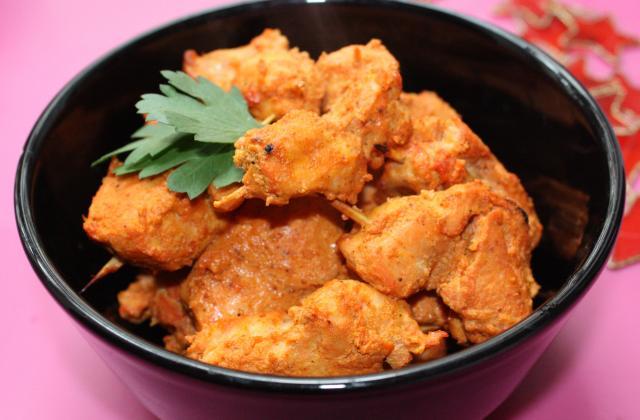 Poulet tandoori simple - Photo par Bollywood Kitchen