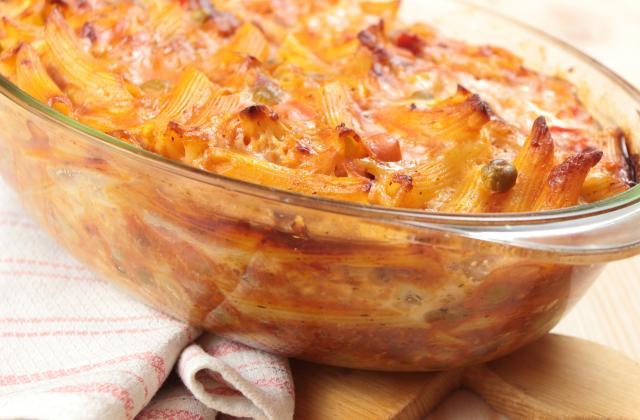 Gratin de pâtes classique - Photo par ihoube