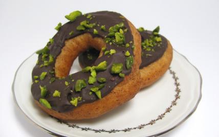 Recette sans gluten : Donuts au chocolat (doughnuts) - Photo par lafaimdesdelices